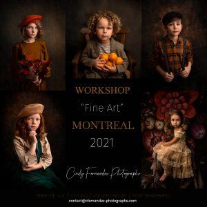 LE PORTRAIT FINE ART AVEC CINDY FERNANDEZ – 25-04-21